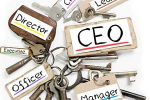 Keys owned by directors and officers within a business