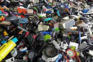 Pile of recalled electronic and housewares. Product Recall Insurance Coverage protects businesses