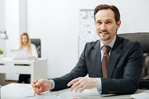 Errors and omissions insurance agent at desk