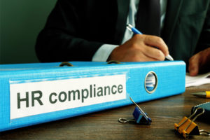 documents regarding ERISA compliance are in the HR compliance binder
