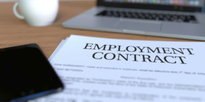 the employment contract has a section on ERISA compliance