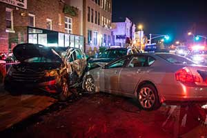 Car accident in Elgin Illinois