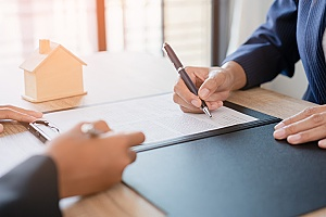 a tenant signing a habitational insurance document