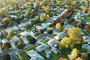 suburbs that belong to a homeowners association