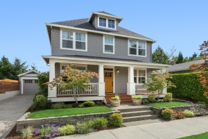 Beautiful craftsman home exterior that should get hoa insurance