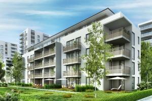 Modern residential building that has HOA Insurance