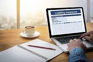 General liability insurance concept. General liability is included in commercial towing insurance