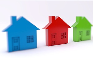 Property rental concept. Habitational insurance protects rent properties