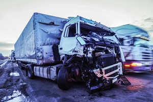cabin of a truck injured during an physical damage insurance